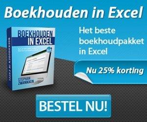 Boekhouden in Excel