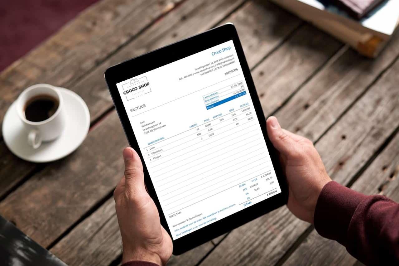 Factuur maken in je Excel boekhouding