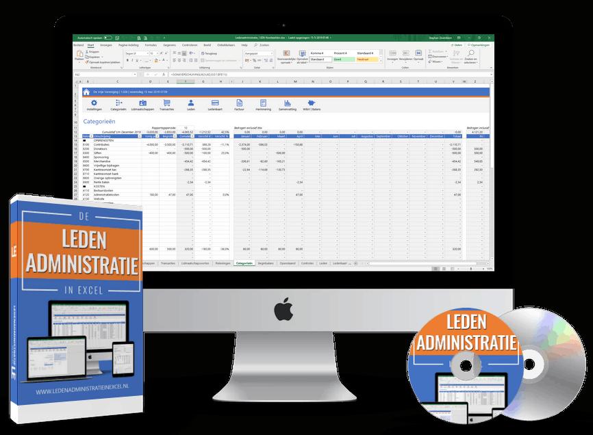 Simpele ledenadministratie in Excel
